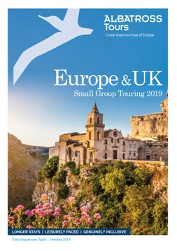 Europe & UK Summer Small Group Tours brochure 2019