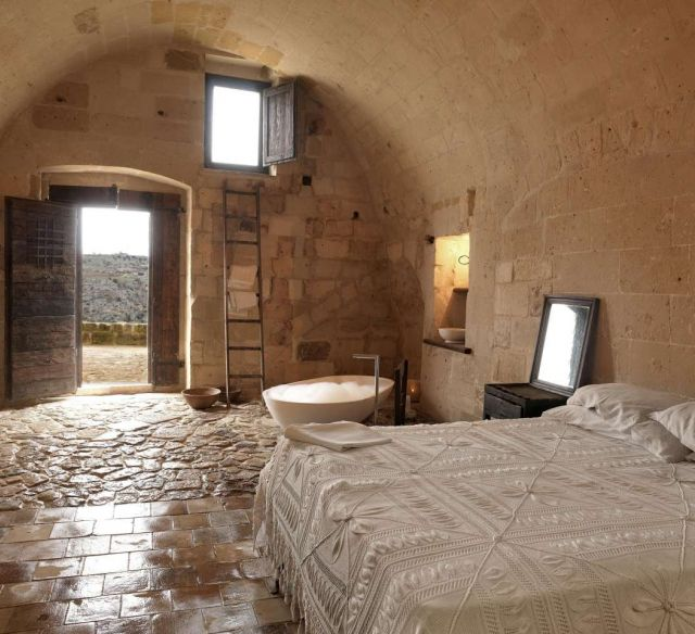 Sassi Caves Hotel in Matera