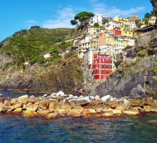 Cinque Terre - courtesy of Deb Greenhalgh