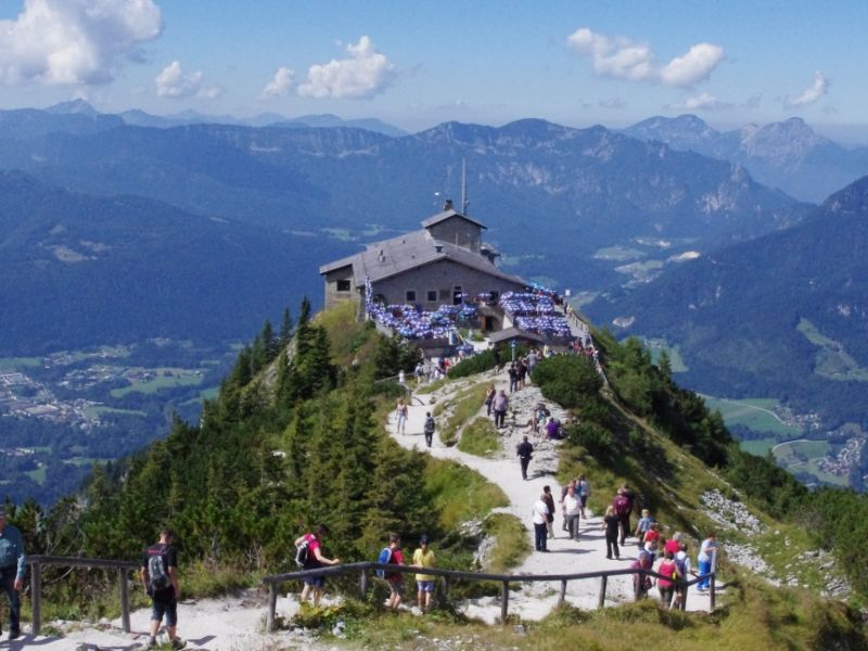 Hitler's Eagle Nest, Austria, courtesy of Albatross traveller M. Kotov