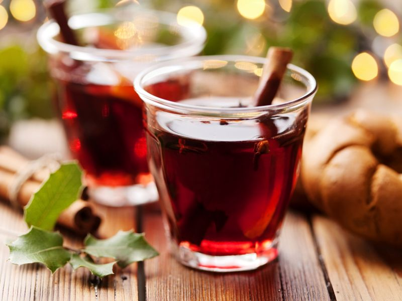 Mulled wine, Germany, Austria