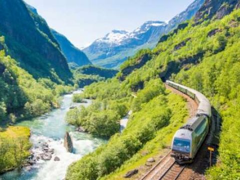 Flam Railway, copyright Sverrehjornevik.com and Flam AS