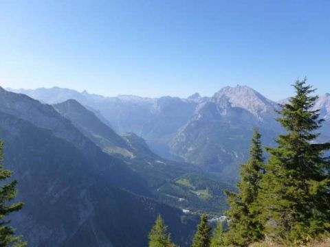 View from Hitler's Eagle's Nest in Bavaria