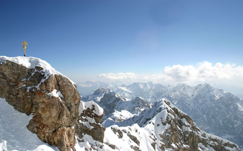 View from Zugspitze Mountain