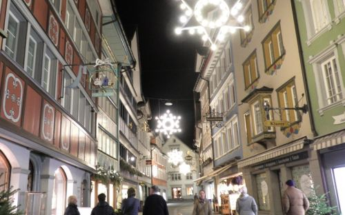 Appenzell, Night Time, Courtesy of Carole Lehmann