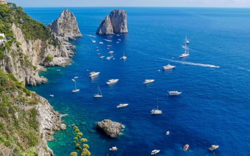 Capri, Italy - courtesy of Jacqui Dehn