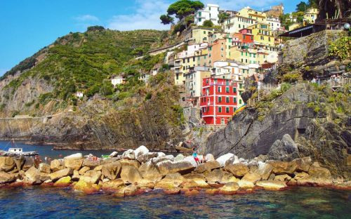 Cinque Terre, Italy - courtesy of Albatross traveller D. Greenhalgh