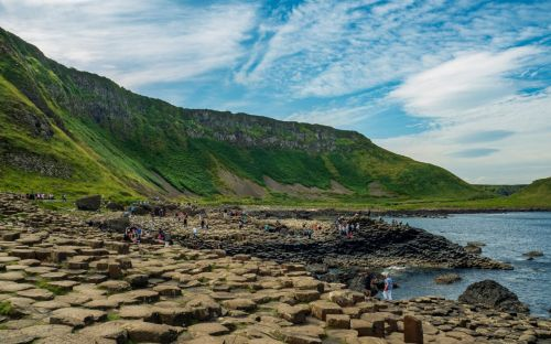 Giants Causeway, Northern Ireland - courtesy of Brian Sherwell