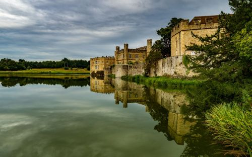 Leeds Castle, England - courtesy of Brian Sherwell