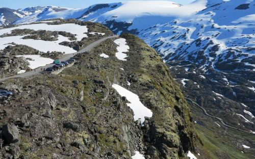 Geiranger Lookout on the Dalsnibba Pass