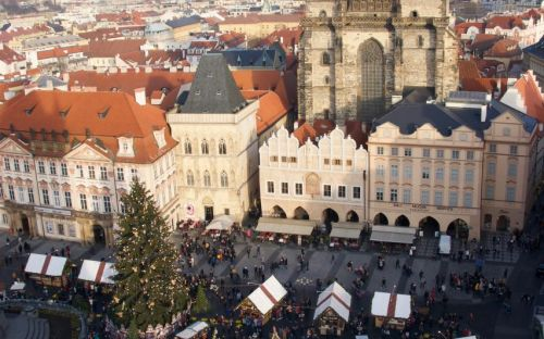 Prague Christmas Market, Kelly Mclennan