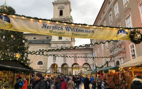 Welcome Christmas Markets, Salzburg, Austria, Ann Howe