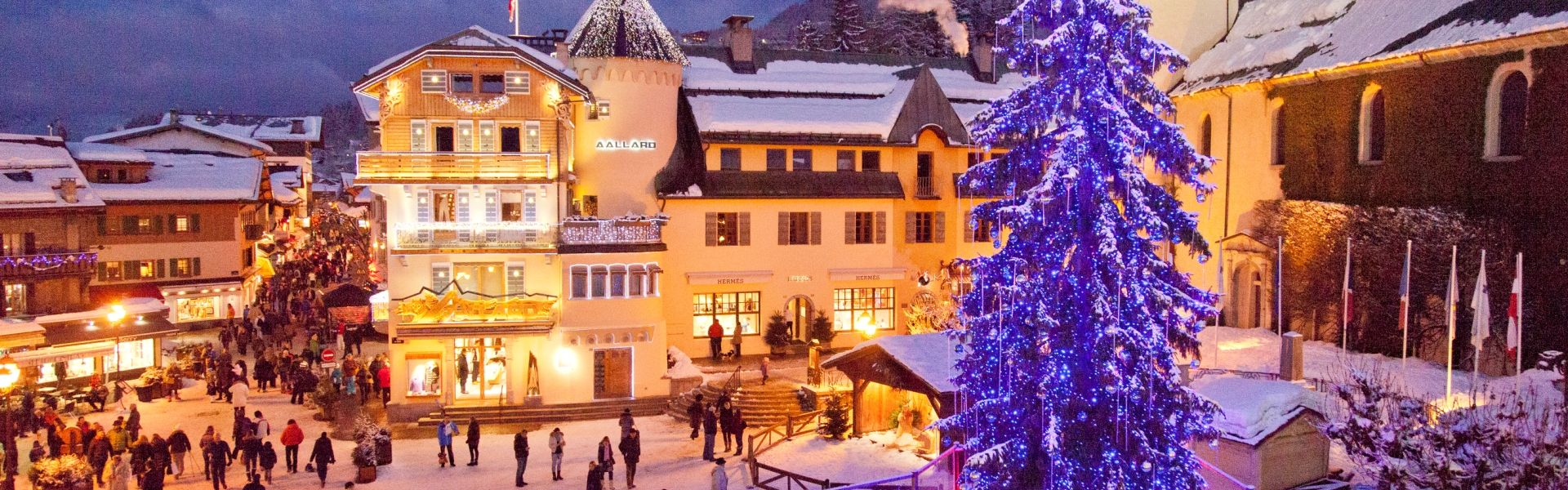 Megeve Town Square