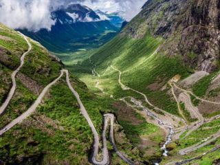 See the stunning Trolls Road in Norway