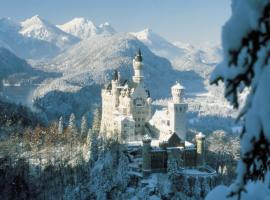 Neuschwanstein Castle in Bavaria - European Christmas Tours