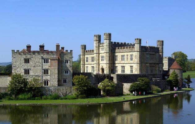 Leeds Castle - on the 18 day Great British Heritage Tour