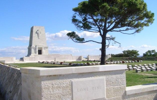 Lone Pine, Gallipoli with Albatross Tours