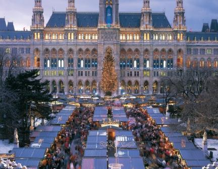 Vienna Town Hall Christmas Markets