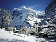Grindelwald Church, Switzerland