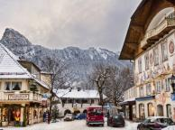 Oberammergau in the Winter